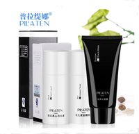 Wholesale 240pcs Sets PILATEN Blackhead Remover Black Head Export Liquid Black Mask Compact Toner Face Care Essence Black Mud Face Mask