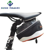 bicycle travel bags - Soul Travel Rainproof Mountain Road Bicycle Tail Rear Bag Rear Saddle Bike Pouch Cycling Seat Bags Accessories Bolsa