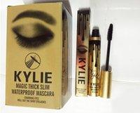 Wholesale Kylie Jenner Mascara Gold Birthday Kit Mascara Kylie Black Mascara Magic thick slim waterproof mascara brand makeupcosmetics DHL free