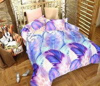 amazing wings - New Amazing Design Modern Style Colorful Wings Egyptian Cotton Bedding Set Duvet Cover Set