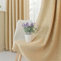 Wholesale Factory direct star curtains silver gold stars hot stars blackout curtain fabric