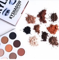 Wholesale In Stock New Kylie Cosmetics Bronze Eyeshadow KyShadow Palette Colors in set DHL