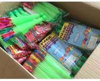 Wholesale Hot Colorful Bunch Water Ballons Children Water Game Toys Amazing Magic Sport Water Filled Ballons Water sprinkling sets DHL