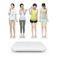 Wholesale Original Xiaomi Bluetooth Smart body weight scale for Android Above Smartphone