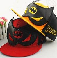 baseball animations - Adult Batman cap Superman merican DC Animation Comic Superhero cap baseball snapback cap Hip hop Sport hat KKA894