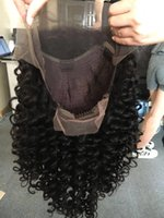 Wholesale 100 Human Hair Wigs Brazilian Curly Full Lace Wigs For Black Women Cheap Lace Front Wigs Baby Hair