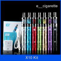 cigarettes wholesale - ECT original e cig kits X9 X10 battery mechanical mods mah LOW ohm w X10 ic30s v2 vaporizer e cigarette