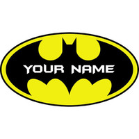 animal bat - Nolvety Customer made Personalised Name Bat Wall Art Stickers Girls Kids Bedroom Wall Decals Art Home Decor WS318