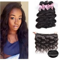 Brazilian Body Wave 3 Bundles 7A Grade Virgin Unprocessed Extensions de cheveux humains Rosa Hair Products