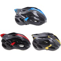 Men adult safety helmet - HOT Sports Bike Bicycle Cycling Safety Helmet with Visor Carbon Fiber vents Adult Helmet H10177
