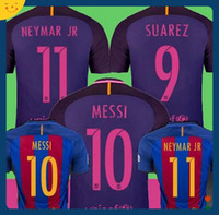 Wholesale Mixed Buy Barcelona Soccer Jersey top thai quality suit Adult messi neymar jr suarez ardafootball soccer jerseys shirts