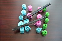 Wholesale Curl Rollers For Curling Hair - Beautiful Colors DIY MAGIC LEVERAG Magic Hair Curler Roller Magic Circle Hair Styling Rollers Curling Irons Hair care Products for Styling