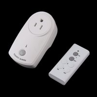 Wholesale New White Wireless Remote Control Switch Socket Adapter Home Mains US Plugest