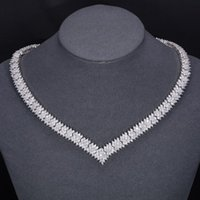 best western china - High Quality Best Hot Western Luxury Fashion OL AAA Zircon Platinum Material New ets For Wedding Bride Jewelry Set zfz