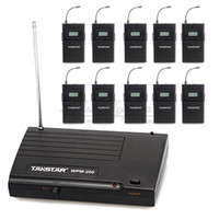 Wholesale Takstar Wpm Wireless Monitor System In Ear Stereo Transmitter Receivers Stage Wireless Monitor System