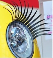 Wholesale Popular fashion item paris Eyelash car logo sticker Automotive super Valentine s gift D Eyelash Auto Part