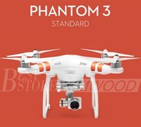 achat en gros de dji drones de la caméra-100% authentique DJI Phantom 3 UAV Professional / Advanced / Stardard Quadcopter Drone avec 4K / HD Video Camera Top qualité shipout en 1 jour