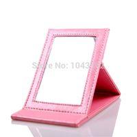 Wholesale Brand New Maccosmetics Desktop Mirror Foldable Portable Academic Pink Makeup Mirror
