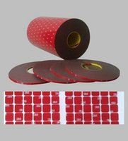 silicone sealant - 2016 Die cutting Customized M P mm m VHB Hi Temp Double Sided Foam Automotive Strong Adhesive Tape