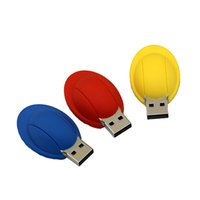 usb flash drive factory price - Factory Price Cool Gift Mini Worker Helmet Silicone USB Flash Drives GB GB GB GB GB