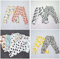 Wholesale Boys Girls Baby Childrens Leggings Clothing Cute Cotton Kids Harem Pants Cartoon Printed Casual Trouser Pants Boutique Clothes