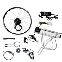 Prezzi Kit e bike-Kit 250W bicicletta elettrica con batteria anteriore del motore della rotella bici elettrica Rimontare E-Bike motorizzato ruota a disco / V Brake ciclomotore