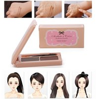 Wholesale Authentic Etude House eyebrow pencil waterproof and sweat is not blooming eyebrow dye eyebrow thrush cream Lasting makeup four color