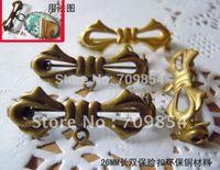 antique filigree brooch - mm antique bronze bowknot filigree connector brooch findings