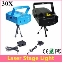 auto delivery - Fast Delivery Mini Laser Stage Light Holiday Sale mW Mini Green Red Laser DJ Party LED Laser Stage Lighting Disco Dance Floor Lights