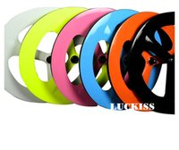 Wholesale Colorful spoke wheel Fixed gear and Road wheelset OEM new bke wheel design k UD glossy finish