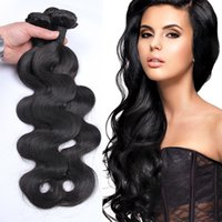 acid body - Brazilian Hair Weave Body Wave Unprocessed Virgin Hair Indian Malaysian Peruvian Remy Human Hair Extensions PC Double Weft Bundle Hair