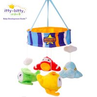 Wholesale Baby I Shi Beattie bell bell small plane rotating bed music bell toys