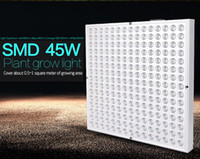 Wholesale 2016 new W SMD LED Plant Grow Light Panel Red Orange Blue White inch Greenhouse Indoor Hydroponics System Hanging Lighting
