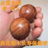 Wholesale rosewood handball fitness palm massage ball player holding the ball ball in walnut hand turn geriatric health care ball