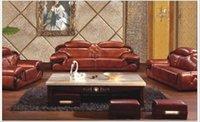 Wholesale Leather U sofa combination living room furniture