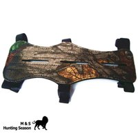 Wholesale Hunting Armguard For Archery Hunting Compound Bow Crossbow Arm Guards Wrist Protecter Camo inch