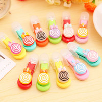 Wholesale cute lollipop manicure nail clippers nail clippers home daily care tool