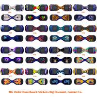 Wholesale Fashion Hoverboard Skins Protective Vinyl Skin Stickers Balance Board Hover Skins Decal Self Balancing Hoverboard Leray Sogo Glyro Swagway