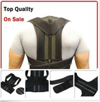 Wholesale Adjustable Posture Back Support Corrector Brace Lumbar Brace Shoulder Band Belt