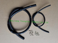 Wholesale Oil pump outlet oil hose inlet oil hose w clamps for stroke Scooter Minarelli JOG50 ZR50 VENTO ZIP KEEWAY Hurricane F act