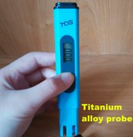 Wholesale 10 PH Meter TDS Digital Tester Pocket pen Titanium alloy probe
