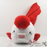 animations retail sale - 2016 Sale Real Baymax Japanese Animation Hoozuki No Reitetsu Antirrhinum Majus Goldfish quot Plush Soft Doll White Retail
