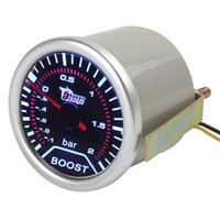 Wholesale quot mm DC V Car Trubo Boost Gauge Meter With Led Display