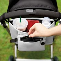 baby organizer cart - Package Diaper bag Baby Stroller Organizer Carriage Pram By Cart Storage Bags Stroller Accessories Pushchair Cup Bag