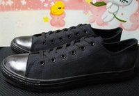 Wholesale Ship with box drop ship new low model canvas shoes unisex shoes for lovers of all size eur