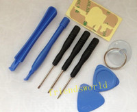 Wholesale 9 in REPAIR PRY KIT OPENING TOOLS With Point Star Pentalobe Torx Screw Screwdriver For iPhone