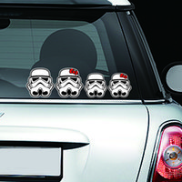 auto body online - ETIE Car Styling Funny Car Sticker Decal Motorcycle Cool Star Wars Custom Car Window Stickers Online Vinyl Wrap Sticker on Auto