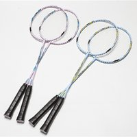 Wholesale Aluminum Alloy Badminton Rackets for Women High Quality Graphite Ball Control Badminton Rackets Sport Dexterous for Amateur Intermediate