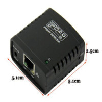 Cheap Shop Recommedation USB 2.0 LPR Printer Print Server Hub Adapter Ethernet LAN Networking Share Free Shipping&Wholesale