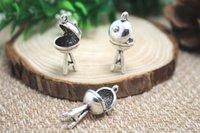 bbq charms - 8pcs Antique Tibetan Silver BBQ Charms Pendants DIY Supplies Jewelry Making x24mm